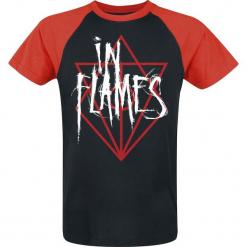 In Flames Scratch Logo Jesterhead T-Shirt czarny/czerwony. Czarne t-shirty męskie z nadrukiem In Flames, l. Za 99,90 zł.