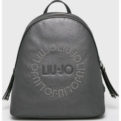 Liu Jo - Plecak. Szare plecaki damskie Liu Jo, z materiału. Za 599,90 zł.
