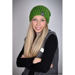 Czapka Vegan 03 - ZIELONA. Zielone czapki zimowe damskie Pakamera. Za 69,00 zł.