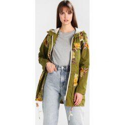 Płaszcze damskie pastelowe: khujo MEROPE Krótki płaszcz yellow/olive