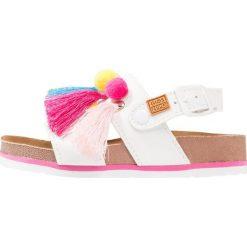 Gioseppo Sandały blanco. Białe sandały chłopięce Gioseppo, z materiału. Za 169,00 zł.