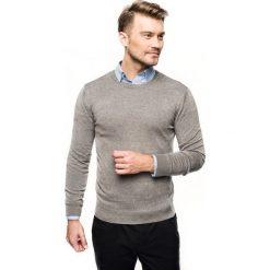 Sweter nagel półgolf szary. Czerwone swetry klasyczne męskie marki Recman, m, z długim rękawem. Za 169,00 zł.