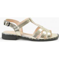 Sandały złote Ramira. Fioletowe sandały damskie marki Badura. Za 151,99 zł.