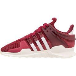 Adidas Originals EQT SUPPORT Tenisówki i Trampki burgundy/footwear white/offwhite. Czerwone tenisówki damskie marki adidas Originals, z materiału. W wyprzedaży za 356,30 zł.