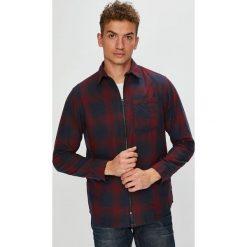 Jack & Jones - Koszula. Czarne koszule męskie na spinki Jack & Jones, l, w kratkę, z bawełny, z klasycznym kołnierzykiem, z długim rękawem. W wyprzedaży za 119,90 zł.