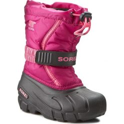 Kozaki dziewczęce: Śniegowce SOREL – Childrens Flurry NC1885 Deep Blush/Tropic Pink 684