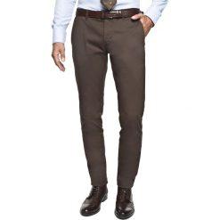Spodnie bimont 214 brąz slim fit. Szare rurki męskie marki Recman, m, z długim rękawem. Za 229,00 zł.