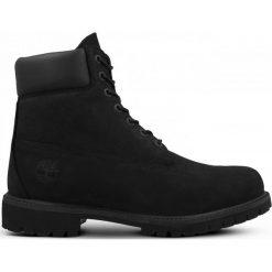 Buty Timberland Premium 6 Inch (10073). Czarne buty skate męskie Timberland, z materiału. Za 799,99 zł.