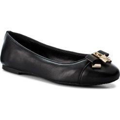 Baleriny MICHAEL MICHAEL KORS - Alice Ballet 40T7ALFP2L Black. Czarne baleriny damskie marki MICHAEL Michael Kors, z gumy, przed kolano, na wysokim obcasie. Za 529,00 zł.