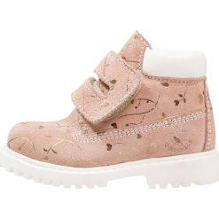 Lumberjack Botki pink/gold. Czerwone buty zimowe damskie Lumberjack, z materiału. W wyprzedaży za 174,85 zł.