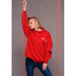 Czerwona Bluza Executive. Czerwone bluzy z kapturem damskie other, m. Za 59,99 zł.