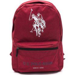 Plecaki męskie: Plecak w kolorze bordowym - (S)34 x (W)45 x (G)16 cm