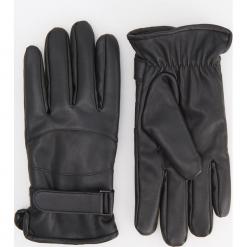 Rękawiczki - Czarny. Czarne rękawiczki męskie Reserved. Za 79,99 zł.