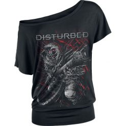 T-shirty damskie: Disturbed Omni Hero Koszulka damska czarny