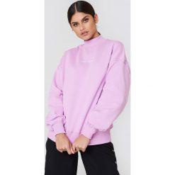 Bluzy damskie: Sweet SKTBS Bluza Sweet Loose V-Rib – Purple