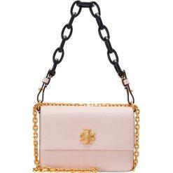 Tory Burch KIRA MINI BAG Torebka opulent pink/royal navy. Czerwone torebki klasyczne damskie Tory Burch. W wyprzedaży za 1078,35 zł.