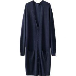 Swetry damskie: Długi kardigan