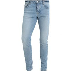Criminal Damage TAPE Jeansy Slim Fit blue/ecru. Czarne rurki męskie marki Criminal Damage. Za 269,00 zł.