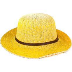 Kapelusze damskie: Art of Polo Kapelusz damski Sunny day żółty (cz14117)
