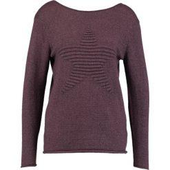 Swetry klasyczne damskie: Soyaconcept NIVIANA  Sweter velvet purple melange