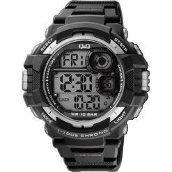 Biżuteria i zegarki męskie: Zegarek Q&Q Męski M143-002 Metronom czarny