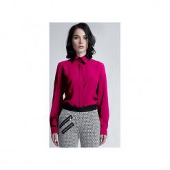 ELEGANCKA KOSZULA, K101. Czerwone koszule damskie marki Lanti, m, w kwiaty, eleganckie. Za 119,00 zł.
