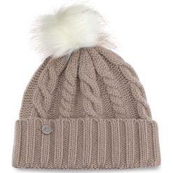 Czapka NEW BALANCE - 500343 696. Brązowe czapki zimowe damskie marki New Balance, z kaszmiru. W wyprzedaży za 129,00 zł.