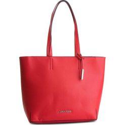 Torebka CALVIN KLEIN - Stitch Ew Shopper K60K604844 640. Czerwone shopper bag damskie Calvin Klein, ze skóry ekologicznej. Za 599,00 zł.