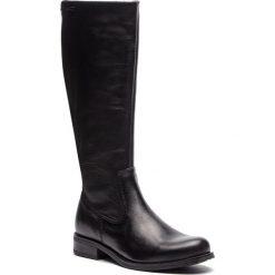 Oficerki LASOCKI - DESA-01 Czarny. Czarne buty zimowe damskie Lasocki, ze skóry, na obcasie. Za 329,99 zł.