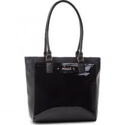 Torebka MONNARI - BAG6141-020 Black Lacquer. Czarne torebki klasyczne damskie marki Monnari, ze skóry ekologicznej. W wyprzedaży za 199,00 zł.