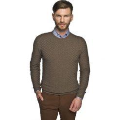 Sweter benson półgolf brąz. Brązowe swetry klasyczne męskie Recman, m, z golfem. Za 129,99 zł.