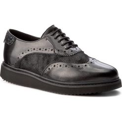 Creepersy damskie: Oxfordy GEOX - D Thymar B D744BB 0NFPV C9270 Black/Anthracite