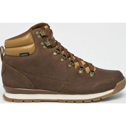 The North Face - Buty. Brązowe buty trekkingowe męskie The North Face, z gumy, na sznurówki, outdoorowe. Za 599,90 zł.