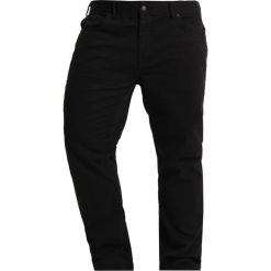 Jeansy męskie regular: Burton Menswear London BLACK B&T Jeansy Straight Leg black