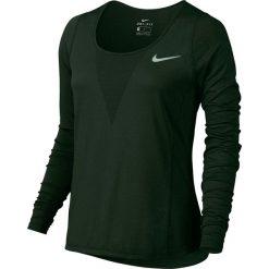 Koszulka do biegania damska NIKE ZONAL COOLING RELAY TOP LONG SLEEVE / 831514-010 - NIKE ZONAL COOLING RELAY TOP LONG SLEEVE. Szare t-shirty damskie Nike. Za 139,00 zł.