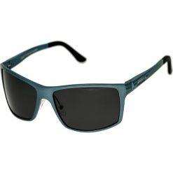 """Okulary przeciwsłoneczne męskie: Okulary męskie """"Kaskade"""" w kolorze niebiesko-szarym"""