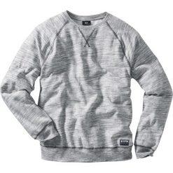 Bluzy męskie: Bluza z reglanowymi rękawami Regular Fit bonprix szary melanż
