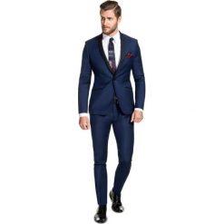 Garnitur LEONARDO GAGE000051. Czarne garnitury Giacomo Conti, z elastanu. Za 799,00 zł.