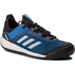 Buty adidas - Terrex Swift Solo AC7886 Blubea/Greone/Brblue. Niebieskie buty trekkingowe męskie Adidas, z materiału, outdoorowe, adidas terrex. W wyprzedaży za 279,00 zł.