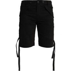Maharishi CARGO Szorty black. Czarne szorty męskie Maharishi, z bawełny. W wyprzedaży za 726,75 zł.