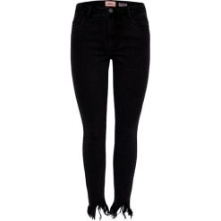 Rurki damskie: ONLY CARMEN  Jeans Skinny Fit black