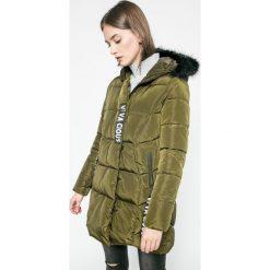 Answear - Kurtka UR Your Only Limit. Szare kurtki damskie pikowane marki ANSWEAR, l, z materiału, z kapturem. W wyprzedaży za 149,90 zł.