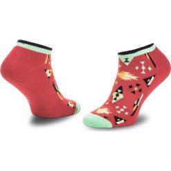 Skarpety Niskie Unisex HAPPY SOCKS - ATINC05-4000 Czerwony. Czerwone skarpetki męskie marki Happy Socks, z bawełny. Za 39,90 zł.