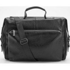 Torba na ramię - Czarny. Czarne torby na ramię męskie Reserved, na ramię. Za 179,99 zł.