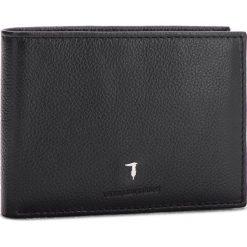 Duży Portfel Męski TRUSSARDI JEANS - Wallet Credit Card Coin Pocket Tumbled 71W00004 K299. Czarne portfele męskie marki Trussardi Jeans, z jeansu. Za 299,00 zł.