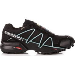 Salomon Buty damskie Speedcross 4 GTX W Black/Black r. 40 (383187). Czarne buty sportowe damskie marki Salomon, z gore-texu, na sznurówki, outdoorowe, gore-tex. Za 389,40 zł.
