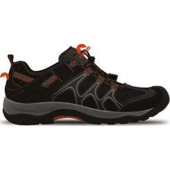 Buty trekkingowe męskie: ELBRUS Buty Niskie Calton Black/ Orange/ Mid Grey r. 45