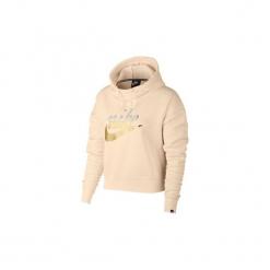 Bluzy Nike  AJ0096  Sportswear Rally. Czerwone bluzy rozpinane damskie Nike, l. Za 297,15 zł.