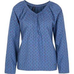 """Bluzki asymetryczne: Koszulka """"Alondra"""" w kolorze niebieskim"""