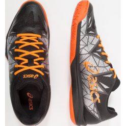 ASICS GELFASTBALL 3 Obuwie do piłki ręcznej black/shocking orange. Czarne buty do koszykówki męskie Asics, z gumy. Za 509,00 zł.